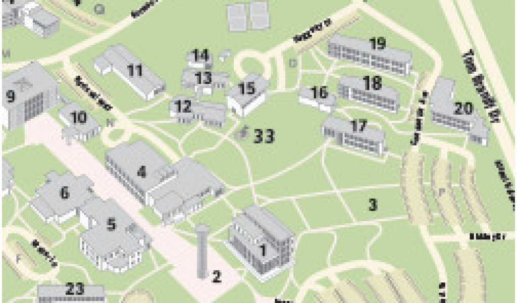Colorado College Campus Map Visitors – secretmuseum