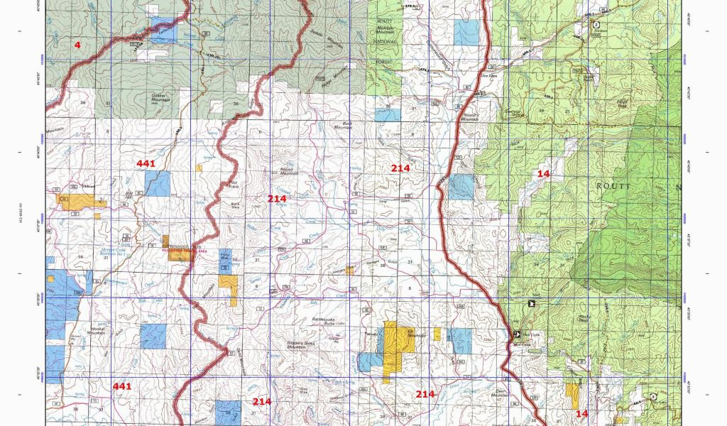 Colorado Continental Divide Map Map Of Wyoming and Colorado New ...