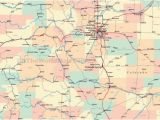 Colorado Counties Map with Roads Colorado County Map with Cities Ny County Map