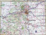 Colorado Counties Map with Roads Colorado Highway Map Awesome Colorado County Map with Roads Fresh