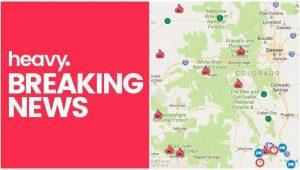 Colorado Fires Map Colorado Fire Maps Fires Near Me Right now July 10 Heavy Com