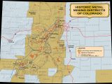 Colorado Gold Map Mine Maps Chicago Lakefront Trail Map Map Of U
