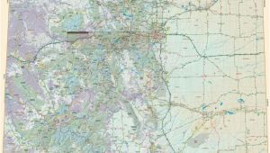 Colorado Highway Map Detailed Large Detailed tourist Map Of Colorado