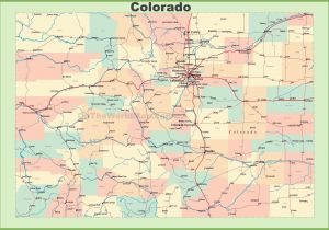 Colorado Map Of Rivers United States Outline Map with Rivers Best ...
