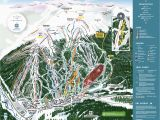 Colorado Map Of Ski Resorts Copper Winter Trail Map