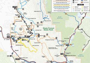 Colorado National Forest Maps Colorado National Forest Map