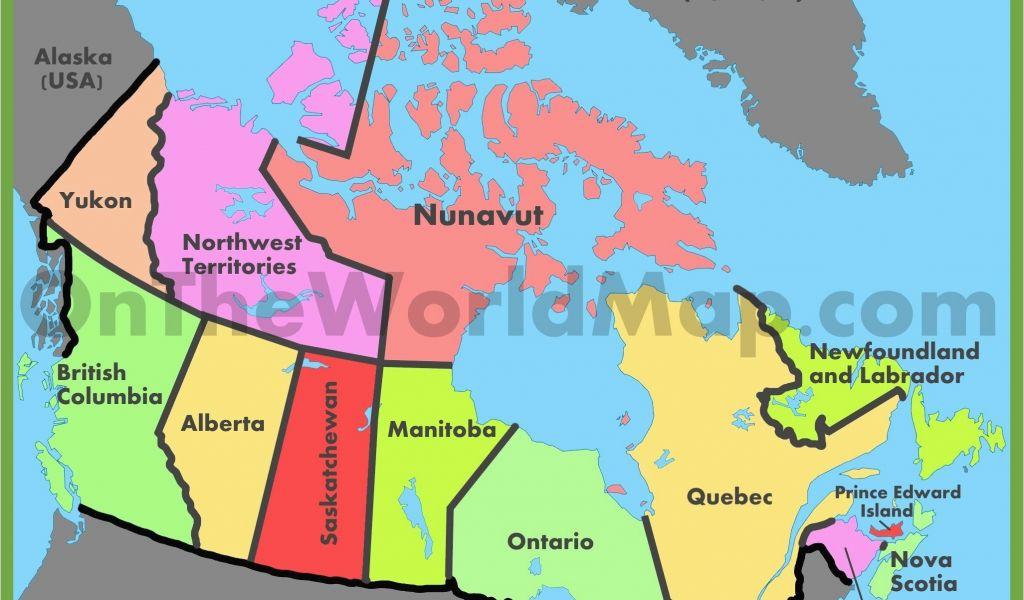 Political Map Of Ontario Canada.Colorado Political Map Us And Canada Blank Political Map New North