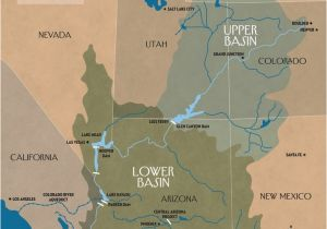 Colorado River Map Arizona the Disappearing Colorado River the New Yorker