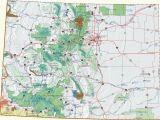 Colorado Road Condition Map Colorado Dispersed Camping Information Map