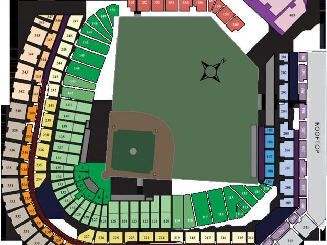 Colorado Rockies Seat Map Coors Field Seating Map Awesome