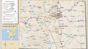 Colorado Rv Parks Map Rv Parks California Coast Map Detailed Colorado Detailed Road Map