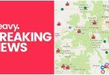 Colorado Springs Fire Map Colorado Fire Maps Fires Near Me Right now July 10 Heavy Com