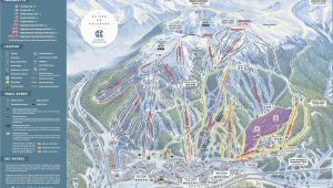 Colorado Springs Ski Resorts Map Copper Mountain Resort Trail Map Onthesnow