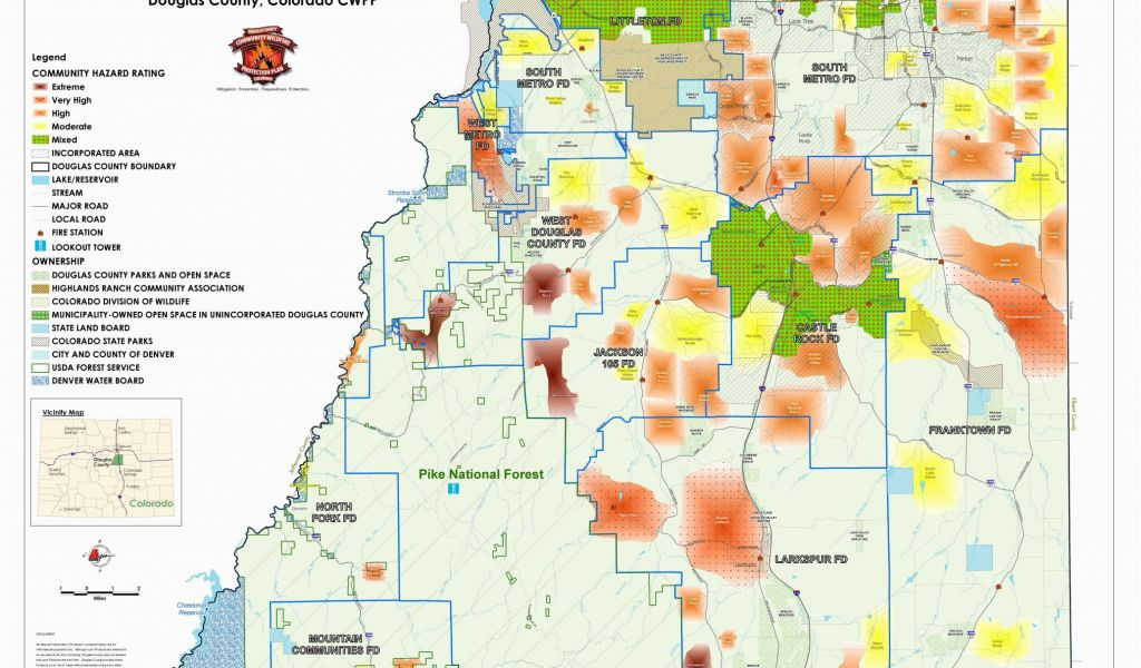 Colorado Springs Zoning Map Maps Douglas County Government ... on