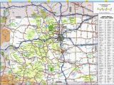Colorado State Map Counties Colorado Highway Map Awesome Colorado County Map with Roads Fresh