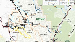 Colorado State Park Map Colorado National forest Map Fresh Colorado County Map with Cities