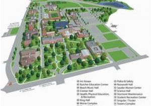 Colorado State University fort Collins Campus Map Colorado State ...