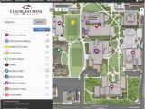 Colorado State University Map Campus Maps Colorado Mesa University