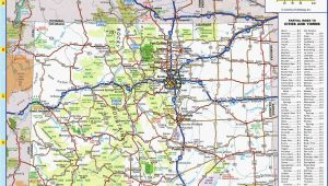 Colorado tourism Map Colorado Highway Map Awesome Colorado County Map with Roads Fresh