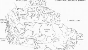 Colouring Map Of Canada top 10 Punto Medio Noticias Canada S Physical Regions Map Blank