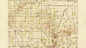 Columbus Ohio Street Map Ohio Historical topographic Maps Perry Castaa Eda Map Collection