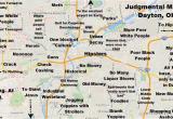 Columbus Ohio Suburbs Map Judgmental Map Of Dayton Ohio Dayton