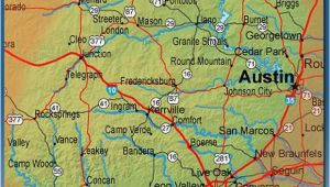 Concan Texas Map Texas Hill Country Map with Cities Business Ideas 2013