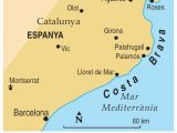 Costa Brava Map Spain Map Of Costa Brave and Travel Information Download Free