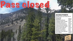 Cottonwood Pass Colorado Map Cottonwood Pass Closing for 2018 Summer Free Content
