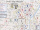 Crawford County Ohio Map toledo Ohio Gang Map Secretmuseum