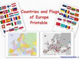 Currency Map Of Europe Free European Countries Flags and Printables soci Studies