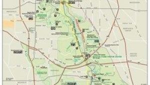 Cuyahoga Falls Ohio Map Scaled Down Version Of the Park Wide Map Showing the Boundaries Of
