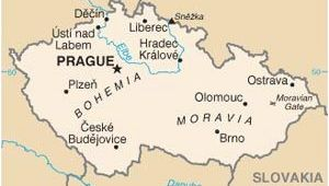 Czech Republic Map Of Europe Pin On Czech