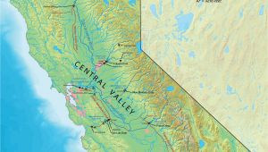 Dams In California Map Coachella Valley Map California Best California Map Central Wide