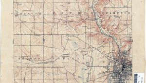 Dayton Ohio area Map Ohio Historical topographic Maps Perry Castaa Eda Map Collection