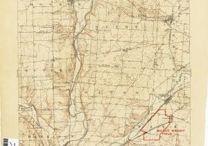 Dayton Ohio County Map Ohio Historical topographic Maps Perry Castaa Eda Map Collection