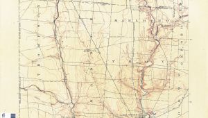 Delaware County Map Ohio Ohio Historical topographic Maps Perry Castaa Eda Map Collection