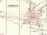 Delta Flights to Europe Map Dl Dfw Hub Routes Airliners Net