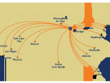 Delta Flights to Europe Map where We Fly