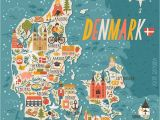 Denmark On Europe Map Denmark Map Denmark In 2019 Denmark Map Travel