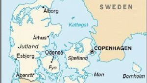 Denmark On Europe Map Map Of Denmark Maps Maps I Love Maps In 2019 Denmark