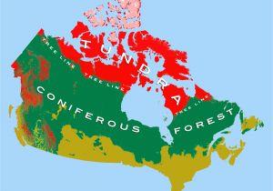 Density Map Of Canada Canadian Arctic Tundra Wikipedia
