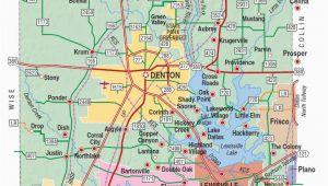 Denton Texas Map Google Map Of Denton County Texas Business Ideas 2013