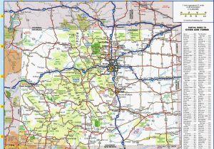 Denver Colorado Map Google United States Map Denver Best United