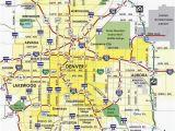 Denver Colorado On A Map Denver Metro Map Unique Denver County Map Beautiful City Map Denver