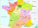 Detail Map Of France Printable Map Of France Tatsachen Info
