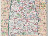 Detailed Map Of Alabama Al Labeled Map with Interstate Map Of Alabama Kolovrat org