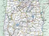 Detailed Map Of Alabama Alabama County
