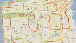 Detailed Map Of California Coast California Coast Road Trip Map Free Printable Map Od California 49