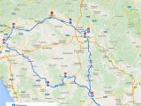 Detailed Map Of Italy Cities Tuscany Itinerary See the Best Places In One Week Florence